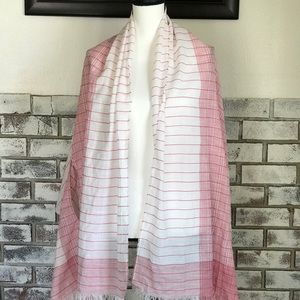 J.Crew Thin Blanket Scarf w/ Arm Holes